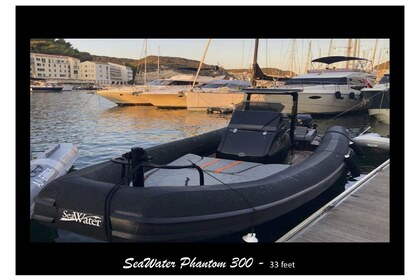 Hire RIB sea water smeraldo 32 Porto Cervo