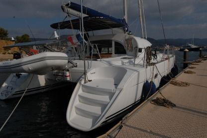 Location Catamaran Lagoon 380 4 Cabines Ajaccio