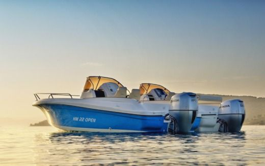 Rental Motorboat Hm 22 Open Trogir