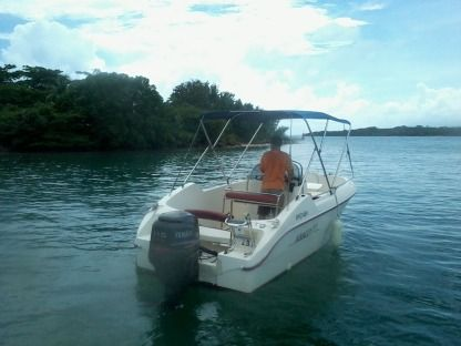 Rental Motorboat Abaco 19Open Le Gosier