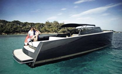 Charter Motorboat Van Dutch 40 Anthracite Golfe Juan