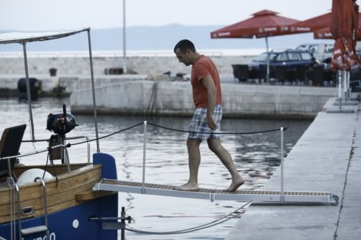 Traitional Croatian Boat Leut in Split zu vermieten