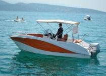Okiboats Barracuda 545 in Krk for hire