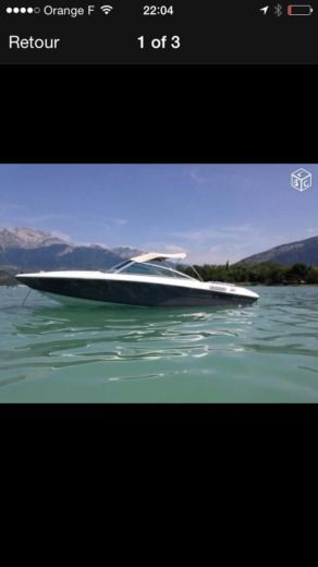 Motorboat Bayliner 175 Gt for hire