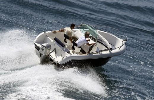 Motorboat Atlantic Marine 550 for hire