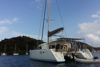 Location Catamaran LAGOON 450F Le Marin