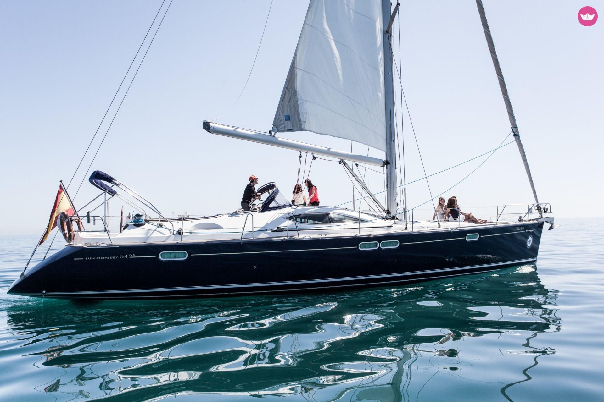 Sailboat Jeanneau Sun Odyssey 54 Ds 16 75m
