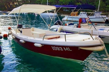Hire Motorboat Traditional Wooden Boat Pasara Adria Cres