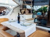 Motorboat Monte Carlo 47 Fly for hire