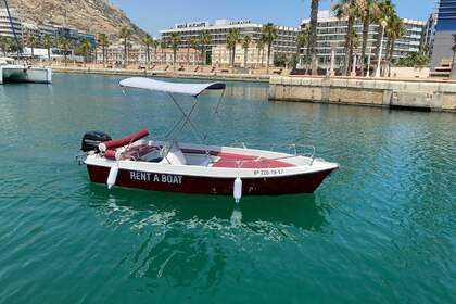 Aluguel Lancha Dream Point Dreamline 430 Alicante
