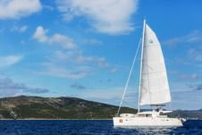 Catamaran Lagoon 450 Alba Cat for hire