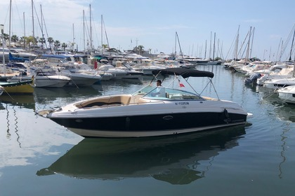 Miete Motorboot CHAPARRAL 260 SSI Golfe Juan