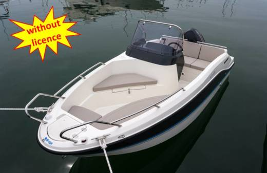 Lancha Quicksilver Activ 455 Open