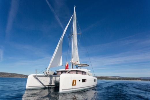 Charter catamaran in Trogir