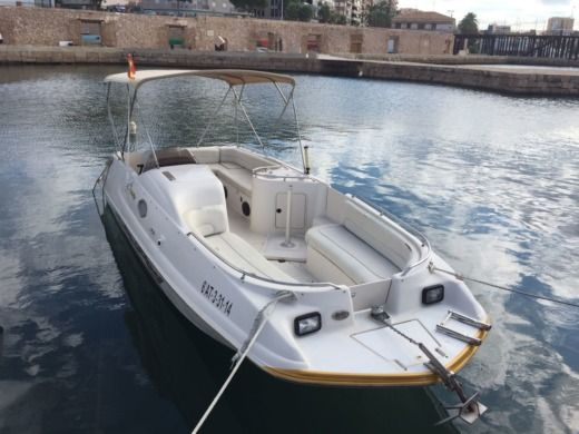 Sea Ray 240 in Torrevieja for hire