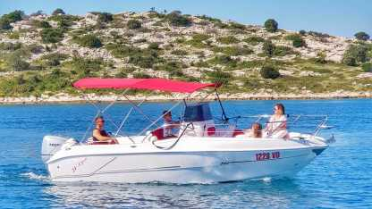 Rental Motorboat Blueline 21 Open Tribunj