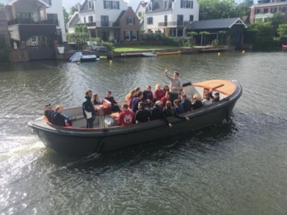 Rental Motorboat Luxe Reddingsloep Breukelen
