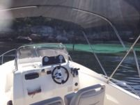 Motorboat Quicksilver Activ 535 for hire