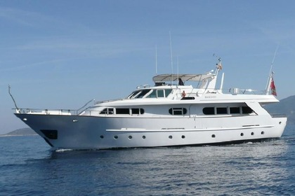 Location Yacht BENETTI SD Palerme