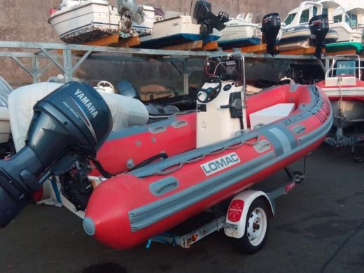RIB LOMAC 5.2m for hire