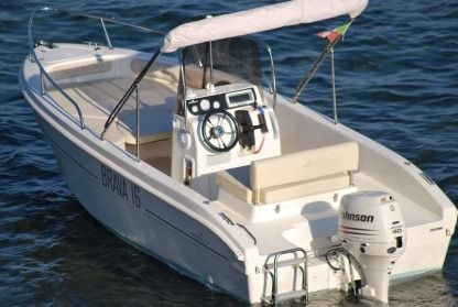 Rental Motorboat Mingolla 16 Open Moniga del Garda