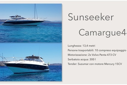 Rental Motorboat SUNSEEKER Camargue Cannigione