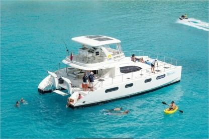 Location Catamaran Power Catamaran 47 Marigot
