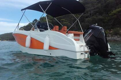 Hire Motorboat OKIBOATS Barracuda 545 Supetarska Draga