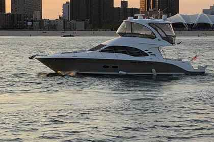 Hire Motor yacht Sea Ray 52FT Fly Bridge New York