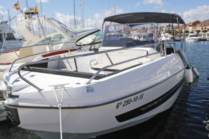 "Rental Motorboat Beneteau Flyer 8.8 Spacedeck ""gadagang"" Cambrils"