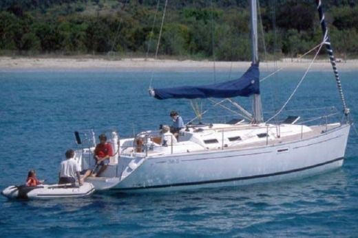 Dufour 385 in Alimos for hire