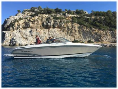 Charter Motorboat Regal 2700 Faliraki