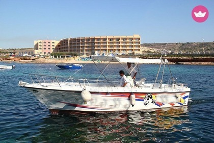 Rental Motorboat chaudron Fast Open Cruiser Mgarr