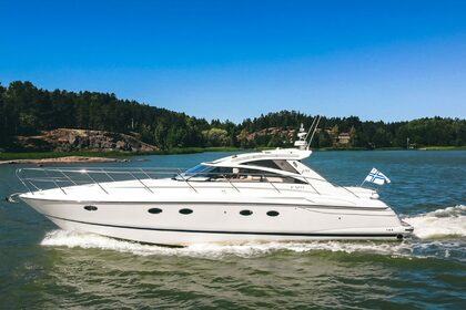 Charter Motorboat Princess V48 Turku