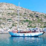 Classic Sailing Boat in Rhodes for hire