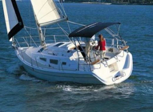 Sailboat Hunter Hunter33 Biquille for hire