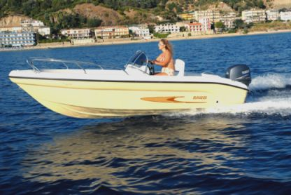 Rental Motorboat Ranieri 17 Syracuse