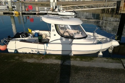 Charter Motorboat Quicksilver 580 pilothouse Le Havre