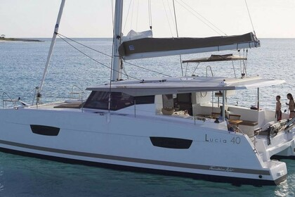 Rental Catamaran Fountaine Pajot Lucia 40 O.V. with watermaker & A/C - PLUS Fajardo