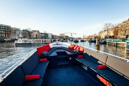 Verhuur Motorboot Custom Sloep The Officer Amsterdam