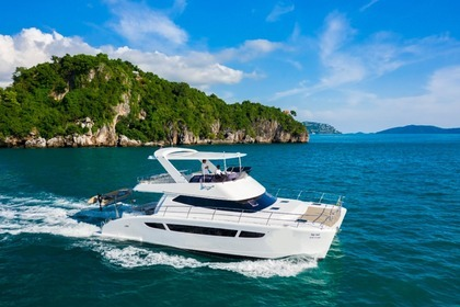 Hire Motorboat Custom Catamaran 45 feet Ko Samui District