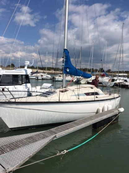 Rental Sailboat Beneteau First 25 Groix