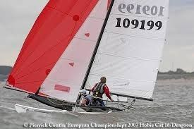 Catamaran Hobie Cat 16 Race for hire