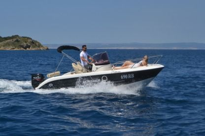 Charter Motorboat Primus Marine Fisher 20 Supetarska Draga