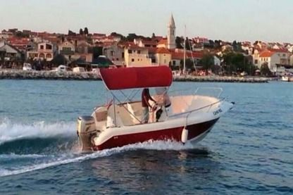 Rental Motorboat Atlantic 550 Pakoštane