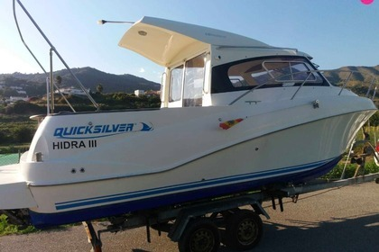 Rental Motorboat Quicksilver 640 Week-end La Herradura