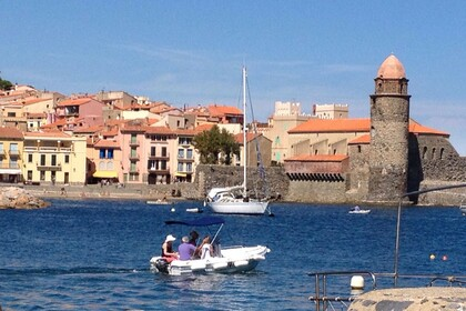 Hire Motorboat DIPOL GLASS Cala 450 Collioure