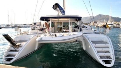 Location Catamaran Lagoon 570 Ibiza