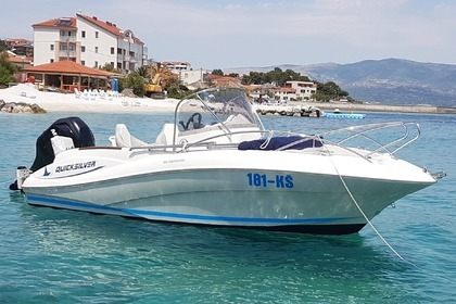 Miete Motorboot QUICKSILVER Commander 555 Trogir