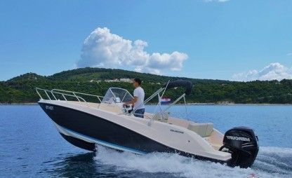 Rental Motorboat Quicksilver 675 Grimaud